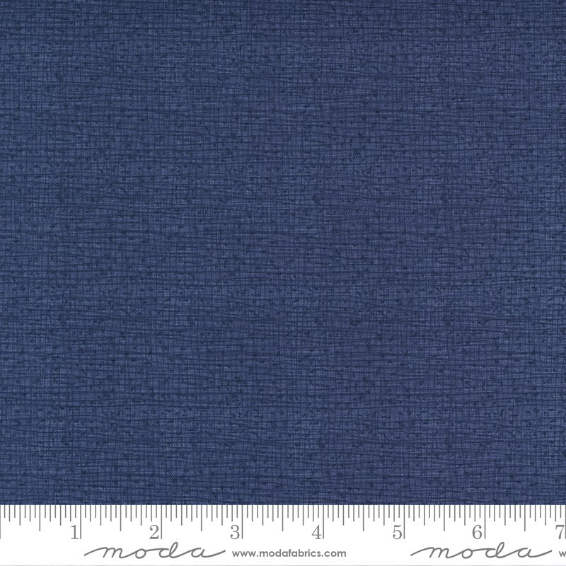 Thatched New 48626-161 Dark Washed Indigo by Robin Pickens for Moda