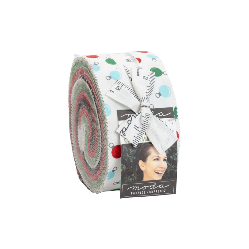 Holiday Essentials Christmas Jelly Roll by Stacy Iest Hsu for Moda