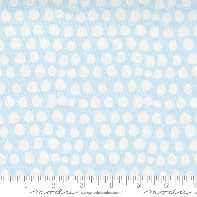 Little Ducklings 25107-15 Blue by Cloth + Paper for Moda