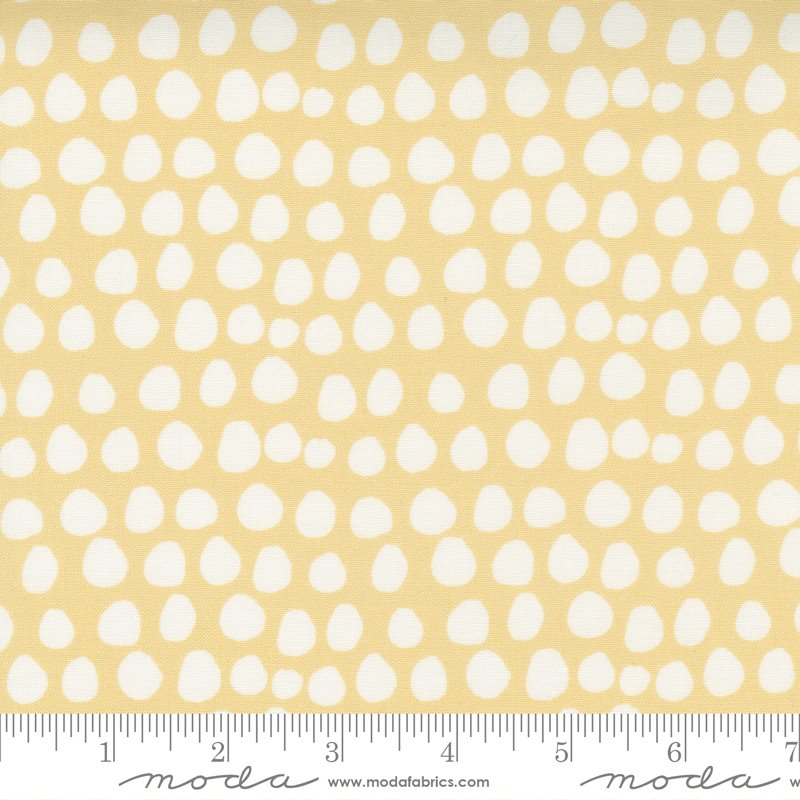Little Ducklings 25107-16 Mustard by Cloth + Paper for Moda