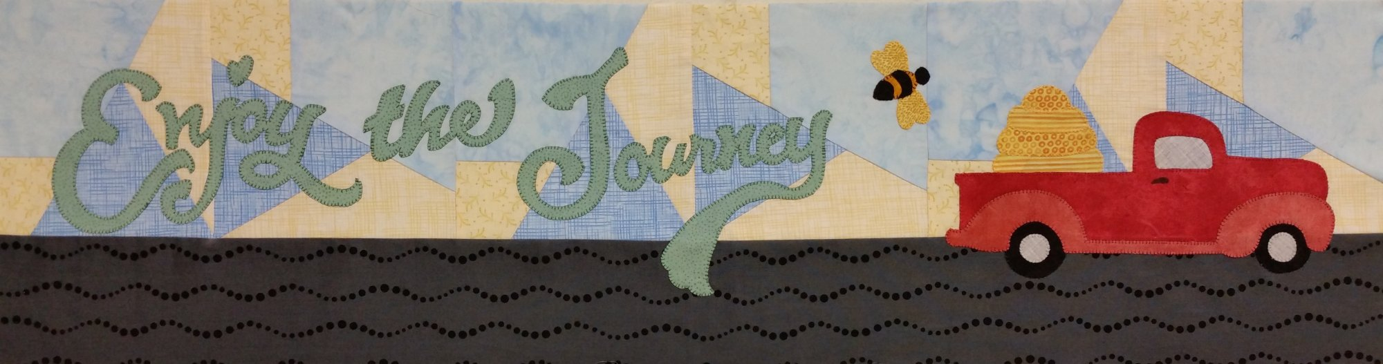 SWD 2017 Row by Row Enjoy the Journey Quilt Pattern