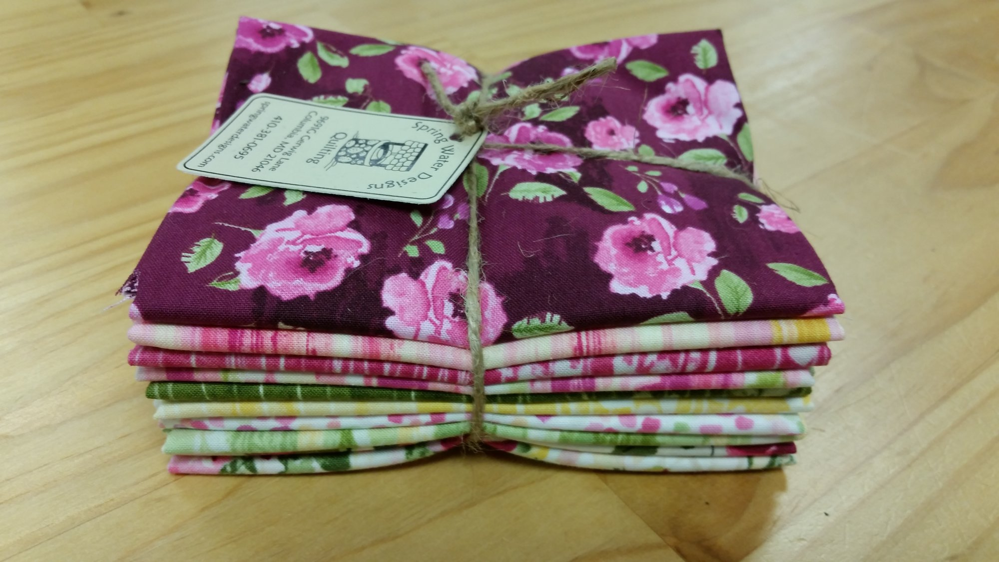 Muse Fat Quarter Bundle of 10 Fat Quarters by Alice Kennedy for Timeless Treasures