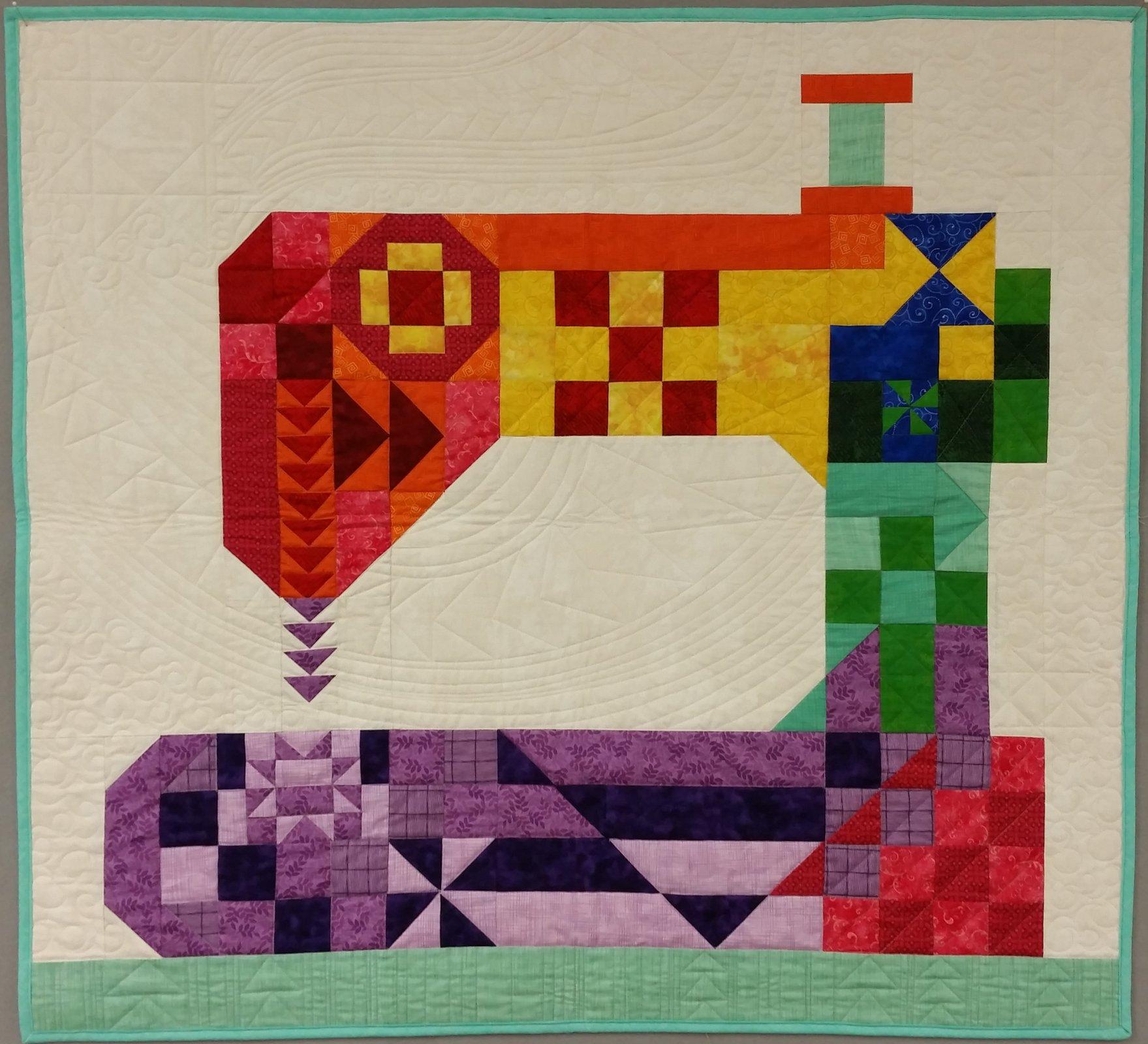 Stitch Happens Quilt Kit designed by Kelli Fannin Quilt Designs