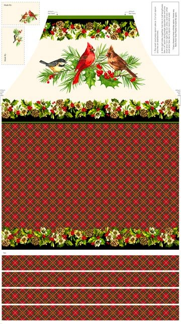 Home for the Holidays Apron Panel 21079-11