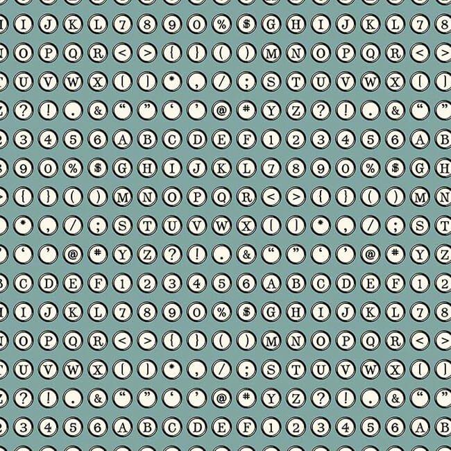 Letterpress 21894-62 by Deborah Edwards for Northcott Fabrics