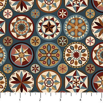 Heritage Quilting 21929-68 by Kim Norlien for Northcott Fabrics
