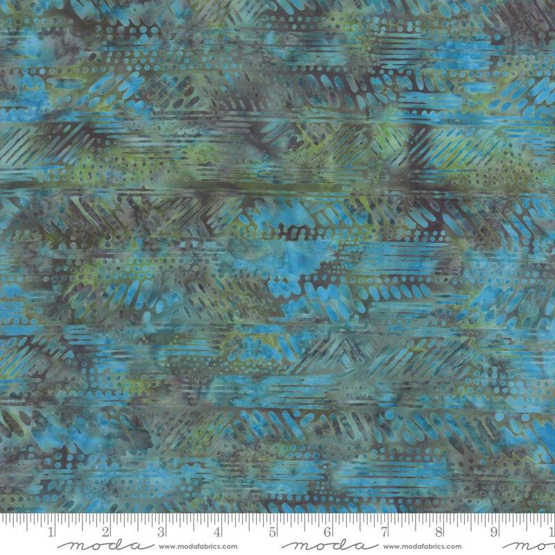 Splendor Batiks 4354-19 Herringbone by Holly Taylor for Moda