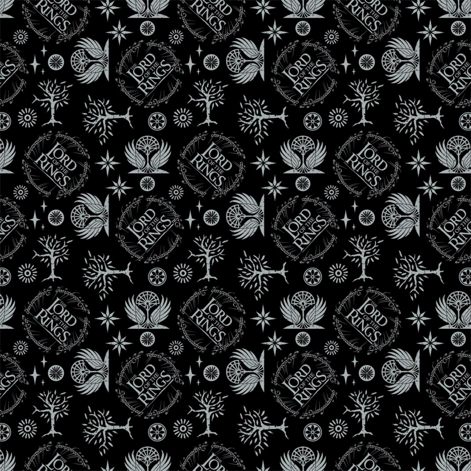 Lord of the Rings 23220205-2 Logo Camelot Fabrics