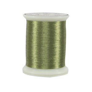 Metallics Thread 40 wt 24 Green Apple by Superior