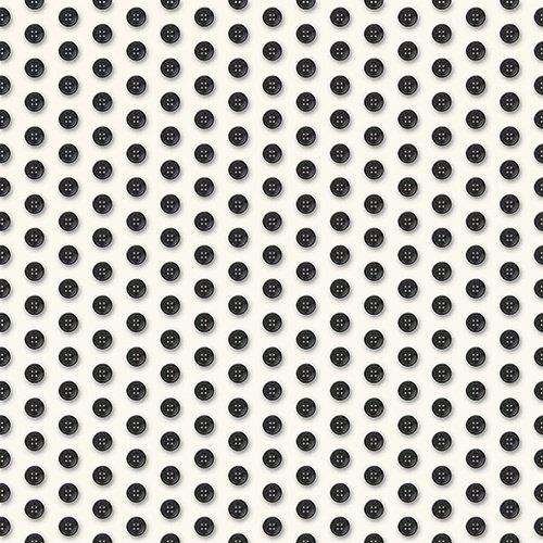 Thimble Pleasures 24164-EJ Buttons on White