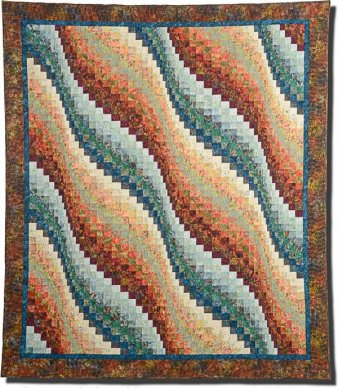 Bargello Quilt Class With Shirley Mandler Beauteous Twisted Bargello Quilt Pattern Free
