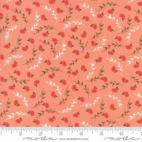 Creekside Posies 37532-17 Coral by Sherri & Chelsi of A Quilting Life for Moda