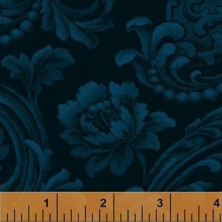 Color Wall 41482A-27 Navy by Mary Koval for Windham