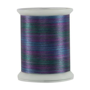 Fantastico 40 wt 5021 Batik Blue 500 yd. Spool by Superior