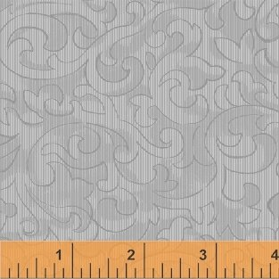 Color Wall 50655-7 Glacier Scroll by Mary Koval for Windham