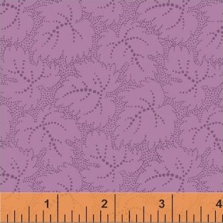 Color Wall 50656-3 Lavendar Leaf by Mary Koval for Windham
