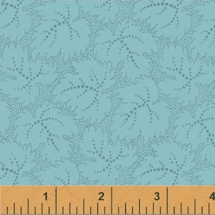 Color Wall 50656-4 Aquatic Leaf by Mary Koval for Windham