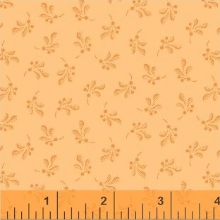 Color Wall 50657-2 Peach Boutonniere by Mary Koval for Windham