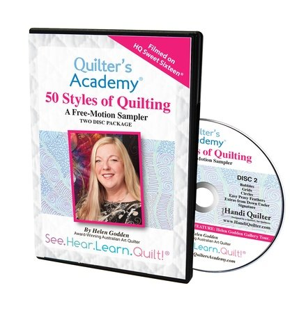 50 Styles of Quilting DVD