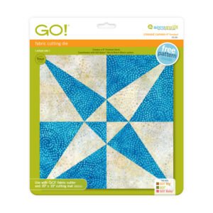 Accuquilt Go! Crossed Canoes 9 Finish 55181