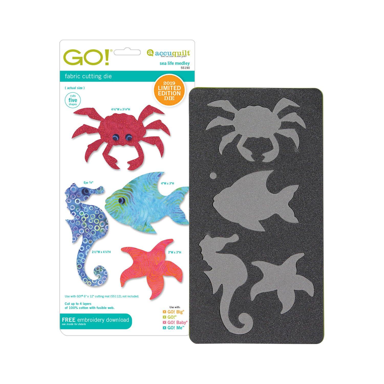 Accuquilt Go! Die Sea Life Medley 55190