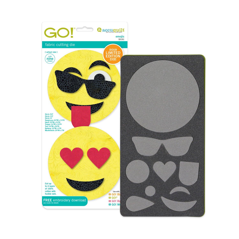 Accuquilt Go! Die Emojis 55191