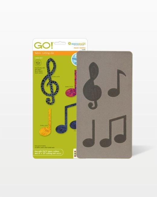 Accuquilt Go! Die Music Medley 55482