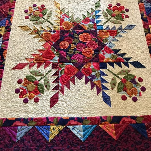 Flourish Quilt Kit by Nancy Rink