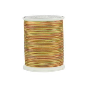 King Tut Cotton Quilting Thread 3-ply 40wt 500yds 906 Autumn Days by Superior