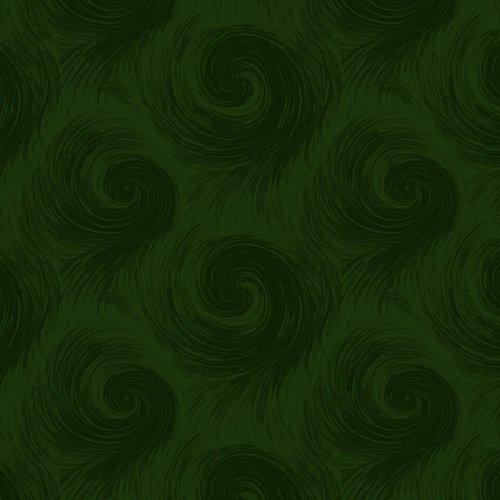 Breezy 6659-66 Dark Green Wide Back 108 in from Henry Glass Fabrics