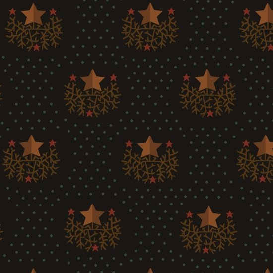 Helping Hands 6883-99 Star by Kim Diehl for Henry Glass Fabrics