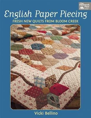 English Paper Piecing book by Vicki Bellino