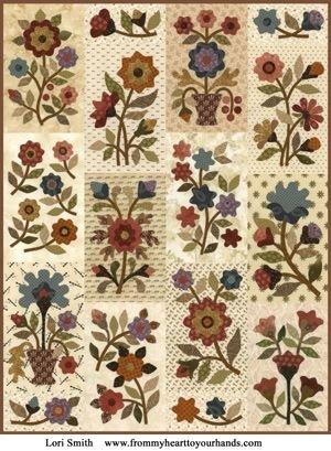Buckingham Garden Pattern by Lori Smith