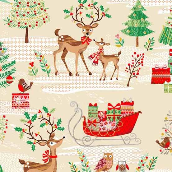 Traditional Metallic Christmas 1790-1