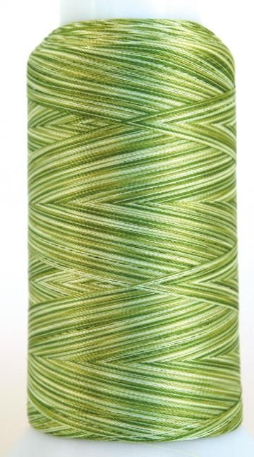 Rainbows Polyester Thread 40 wt 2000 yds Cone Lime Squeeze