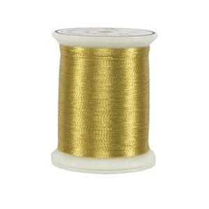 Metallics Thread 40 wt 9 Military Gold by Superior