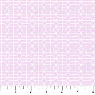 Hand Stitched 90399-80 Lilac by Karen Lewis for Figo Fabrics