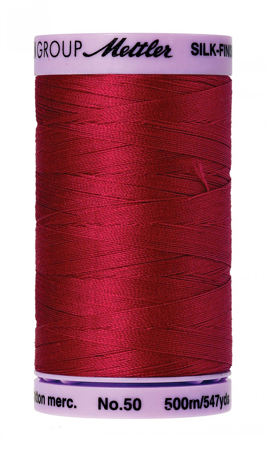 Mettler 50 wt 0504 Silk Finish 547 yds Country Red