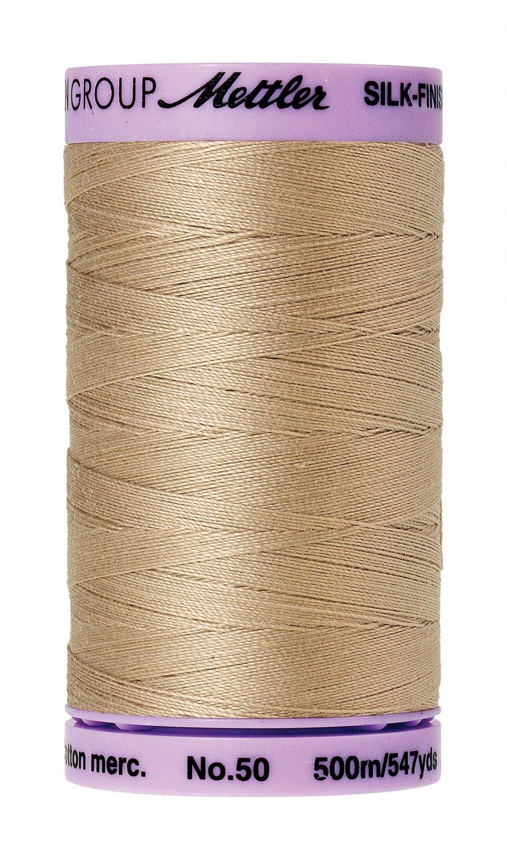 Mettler 50 wt 0538 Silk Finish 547 yds Straw