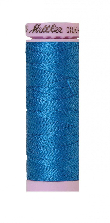 Mettler 50 wt 0339 Silk Finish 164 yds Mediterranian Blue