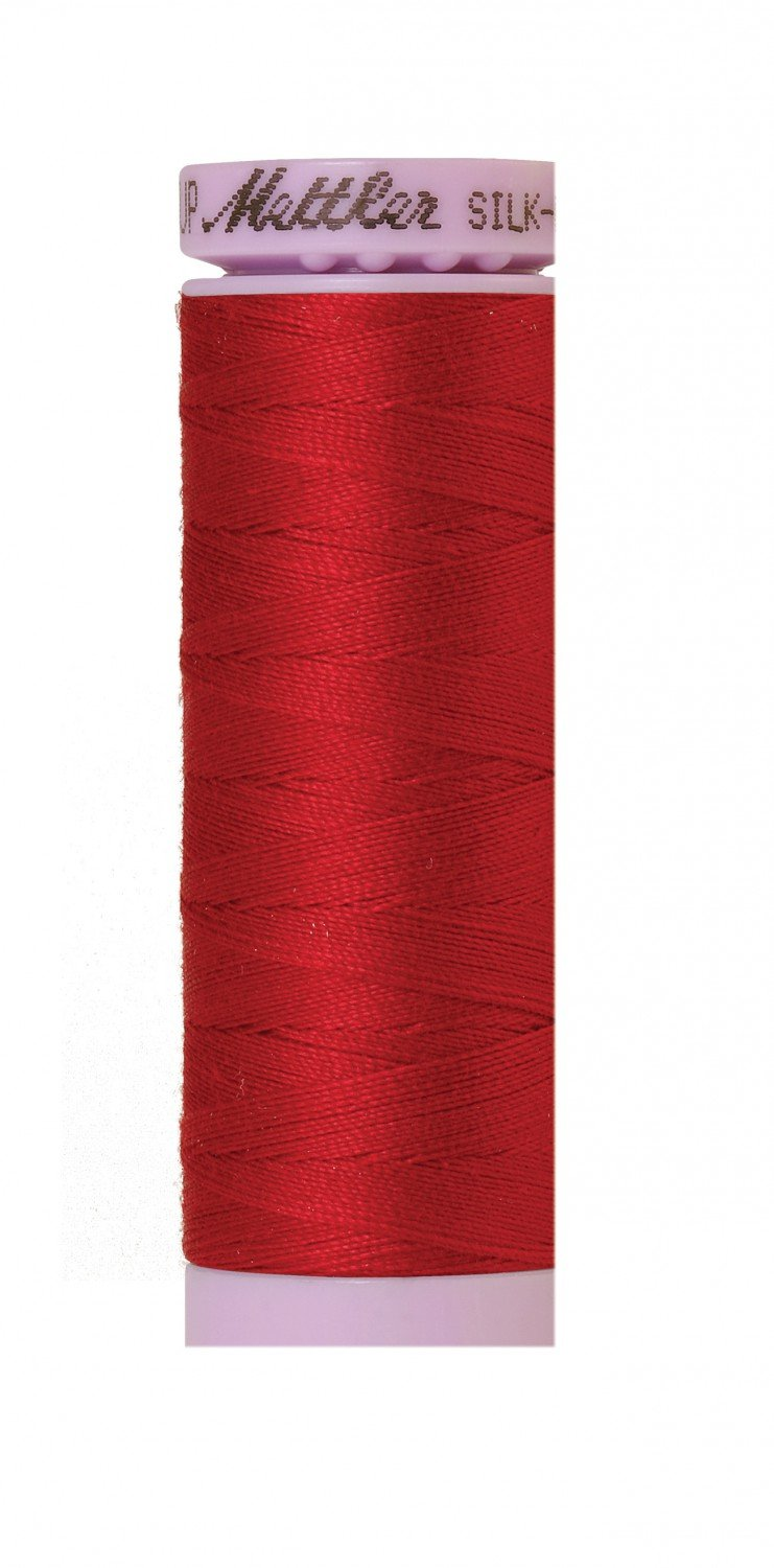 Mettler 50 wt 0504 Silk Finish 164 yds Country Red
