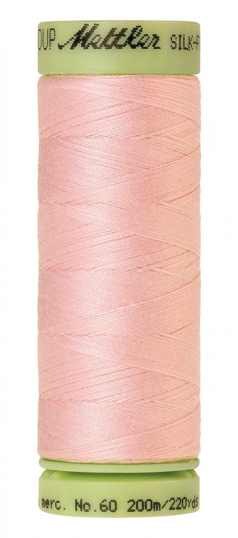 Mettler 60 wt 0085 Silk Finish 220 yds Parfait Pink