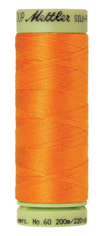 Mettler 60 wt 0122 Silk Finish 220 yds Pumpkin