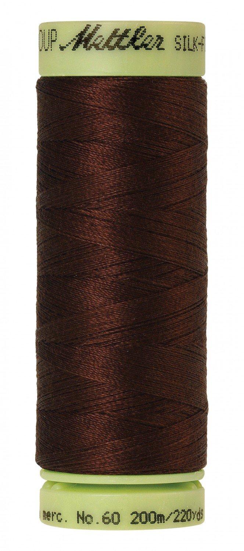 Mettler 60 wt 0173 Silk Finish 220 yds Friar Brown