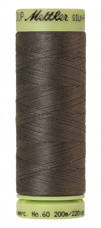Mettler 60 wt 0416 Silk Finish 220 yds Dark Charcoal