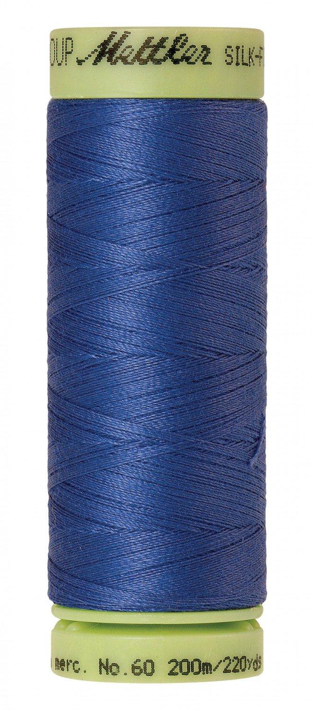 Mettler 60 wt 0815 Silk Finish 220 yds Colbalt Blue