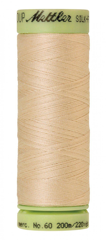 Mettler 60 wt 1000 Silk Finish 220 yds Eggshell
