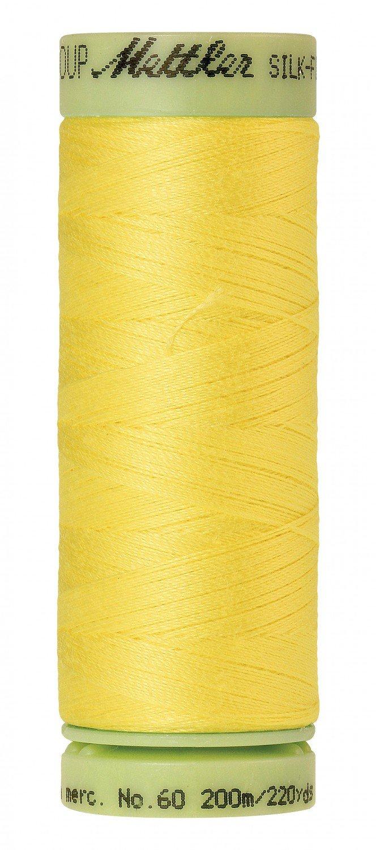 Mettler 60 wt 3507 Silk Finish 220 yds Lemon Zest