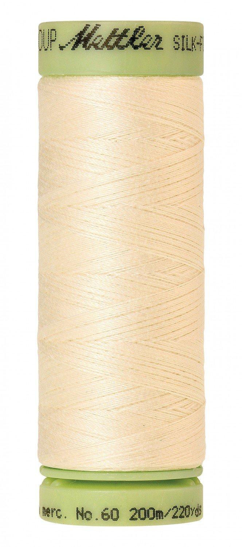 Mettler 60 wt 3612 Silk Finish 220 yds Antique White