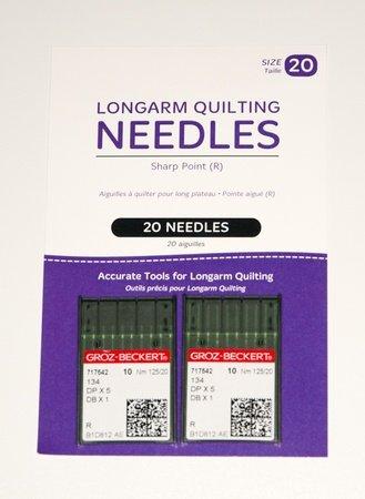 HQ Longarm Needles Size 20 Standard Sharps Groz-Beckert 20 ct